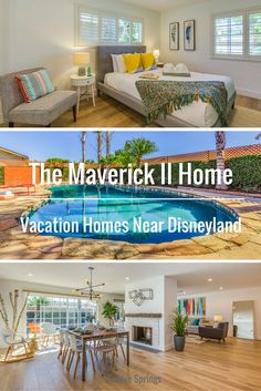 Beautiful and affordable vacation home near Disneyland. | The Maverick II Home by Twelve Springs is a 4 bedroom, 2 bathroom house with a pool, and amazing game room.