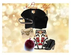 Holiday style by a-le-mode on Polyvore featuring polyvore, fashion, style, L.K.Bennett, Dolce&Gabbana, Chanel and clothing