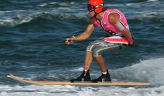 Website designed for the Australian Water Ski Racing Championships