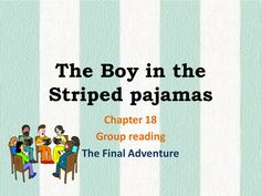 John Boyne's 'The Boy in the Striped Pajamas' - This full scheme of work includes PPTs for chapters 14 to 20 with extract analysis activities and extended written tasks with templates. It also includes a worksheet that can be used with the film version and an assessment I used in class for leveling.