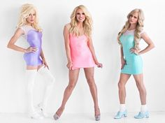 Alaska, Willam and Courtney Act
