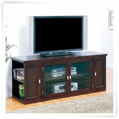 LEIck 86162 Riley Holliday Espresso 62 in. TV Console