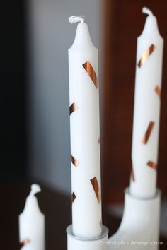How to make Confetti Candles || Add some party to your candles!