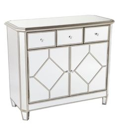 Allissias Attic Design & Vintage French Style — Kensington Mirrored Chest