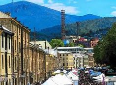 Salamanca Market, Hobart, Tasmania shopped for books in this market. Also bought wonderful lamb chops here!