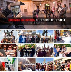 La Península Ibérica está repleta de enigmas que esperan ser descubiertos, que deben ser resueltos. ¿Estás preparado/a? #eventprofs #enigmaipad #alwaysexploring