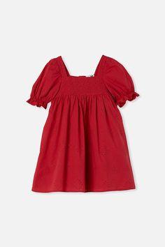 Lucinda Short Sleeve Dress Cute Sandals, New Image, Girls Dresses, Short Sleeve Dresses, Sleeves, Outfits, Tops, Women, Country