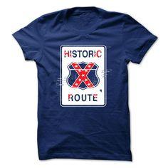 Confederate Historic Route T Shirt, Hoodie, Sweatshirt