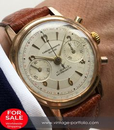 Pink gold plated Chronograph Suisse watch with structured dial  #Vintage	#style	#luxury	#businessattire	#gentlemanstyle	#lifestyle	#menstagram	#mensaccesories