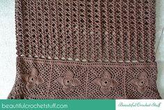 Crochet Falda maxi del Patrón Libre    Hermosa materia ganchillo