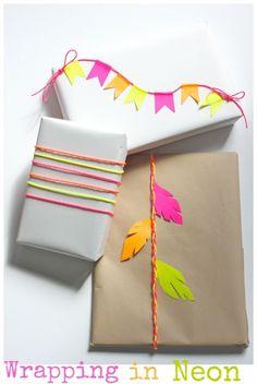 Cadeautjes inpakken