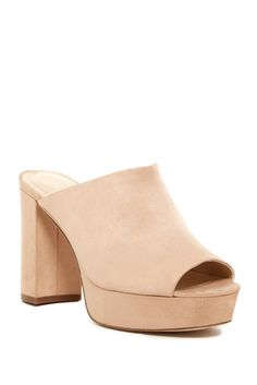 OUT OF STOCK Charles By Charles David Miley Chunky Heel Sandal