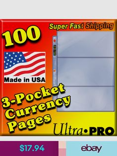 Ultra Pro Albums Folders Coins Paper Money Ebay In 2018