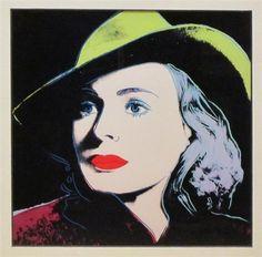Andy Warhol, Ingrid Bergman