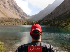 Kalpak Travel is enjoying the magnificent view in Tajikistan