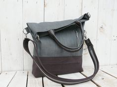 canvas tote bag modern crossbody canvas totes messenger hand strap adjustable strap grey canvas casual everyday Tote