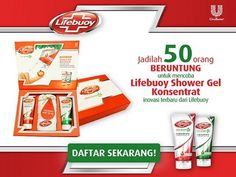 sample gratis produk lifebuoy shower gel konsentrat