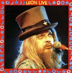 LEON LIVE (1973) - Leon Russell - Capitol Records - Album Cover Art