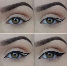 Eyeliner hats  autumn -  #relate  #summer  street,  music  lipstick -  maquillaje  fall  #Relationship,  #Dream  #girl