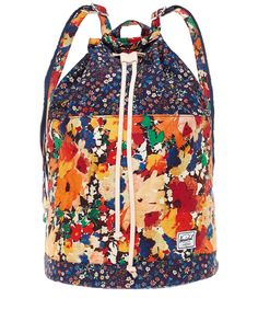 Multicolour Hanson Rucksack Liberty Fabric 531dbb75f3576