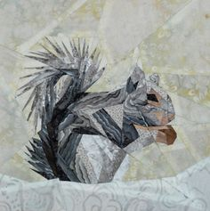 silver linings quilting pattern squirrel