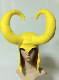 Marvel Villain: Loki Fleece Hat. $40.00, via Etsy.