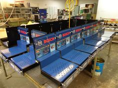 Custom Display Unit for Batteries, Manufactured in House