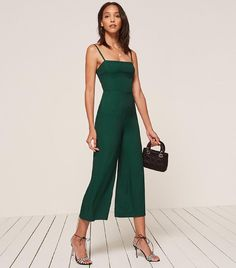 1b9696e157e The 8-Piece Capsule Wardrobe That Looks Good With Every Shoe Style. Denim  JumpsuitShort JumpsuitOverallsJumpsuits For WomenGreen ...