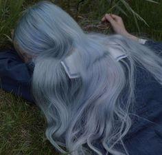blue dream shared by on We Heart It Hair Color Streaks, Hair Dye Colors, Cool Hair Color, Hair Inspo, Hair Inspiration, Dye My Hair, Aesthetic Hair, Blue Hair, Pretty Hairstyles
