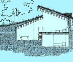 The idea of building an underground house has been around for a long time because it is a great idea. An underground house can keep you warm in the winter. Underground Homes, Underground Greenhouse, Underground Living, Greenhouse Plans, Earth Homes, Earthship, Future House, Homesteading, Tiny House