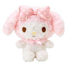 My Melody Plush Doll Rose Boa Fluffy S Small Size SANRIO JAPAN