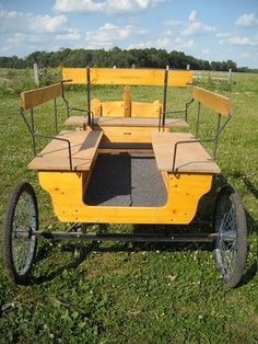 After selling Ogre I considered keeping his wagon and having the shafts modified to fit Luna, but I think I'd rather get a two-wheeled cart for her. Bike Wagon, Horse Wagon, Horse Cart, Horse Drawn Wagon, Mobiles, Wagons For Sale, Horse And Buggy, Animal Magic, Mini Farm