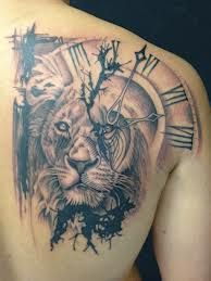 Incredible Lion Tattoo