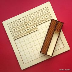 Tabulka pro vkládání čísel od 1 do 100