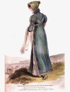 Regency Ramble: Regency Fashion August 1814