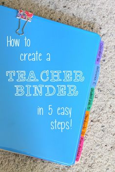 Simple, easy teacher binder organize your teaching life! ready-or-not-i-m-going-to-be-a-teacher Classroom Organisation, Teacher Organization, Teacher Tools, Teacher Hacks, Classroom Management, Teacher Resources, Organized Teacher, Teacher Stuff, Teachers Toolbox