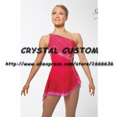 Aliexpress.com : Buy Girls Ice Skating Dresses Graceful New Brand Figure Skating Dresses For Competition DR4233 from Reliable dress brand suppliers on Crystal Professional Custom Figure Skating Dresses Store