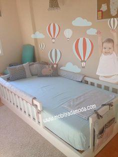 Bed idea & creepy baby lol