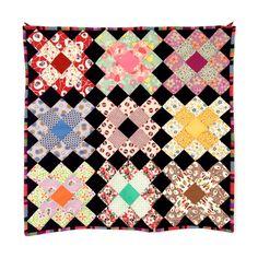 """O produto Quilt de Parede """"Granny Squares"""" é vendido por ritacor - quilting & patchwork na nossa loja Tictail.  A Tictail permite-lhe criar gratuitamente uma loja online atraente - tictail.com"""