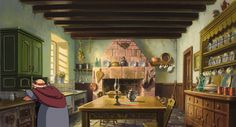 Howl's Moving Castle - Kitchen