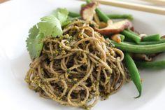 thai basil + peanut pesto