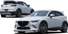 Mazda CX-3 Tuned by AutoExe Looks Like a Track-Ready SUV
