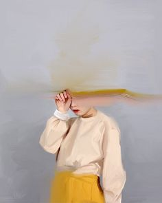 """Girl with the Yellow Skirt"" by Sydney artist Nyssa Sharp"