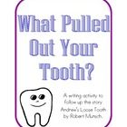 What Pulled Out Your Tooth?- Andrew's Loose Tooth by Robert Munsch Kindergarten Activities, Writing Activities, Activities For Kids, David Shannon, Loose Tooth, Mo Willems, Teachers Corner, Author Studies, Beginning Of School