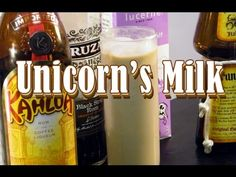 I don't usually rave about a drink, but I will this time. You've got to go out and try the Unicorn's Milk. Kahlua, Frangelico, half & half, and dark rum: these ingredients were brought together to make a molasses flavored cup of goodness. Try one and you'll be addicted for life.