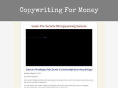 Copywriting For Money - http://www.vnulab.be/risk/copywriting-for-money