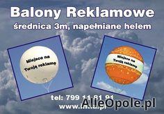 reklama na balonach 3m (Opole)