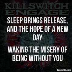 """-- #LyricArt for """"The End Of Heartache"""" by Killswitch Engage"""