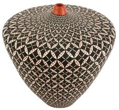 Acoma covered pot. Just wow.