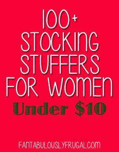 100+ Stocking Stuffers for Women Under $10 - Fantabulously Frugal - Fantabulously Frugal